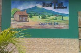 Mural of Hostal Tomabú